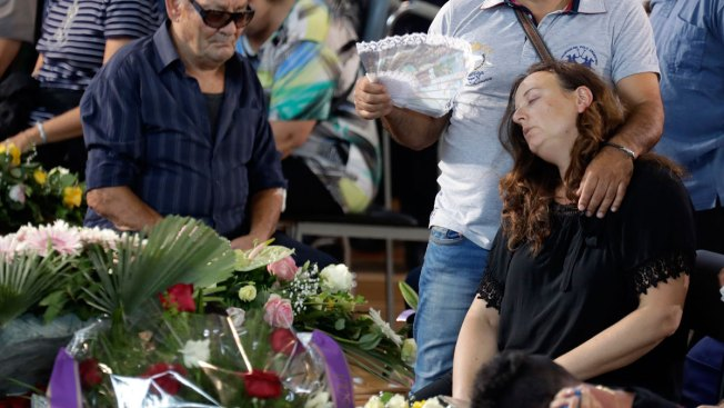 First Funerals for Italy Quake Victims, Death Toll Rises