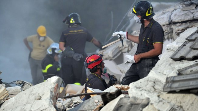 Officials Pledge to Rebuild as Rescuers Search for Survivors in Italy Quake