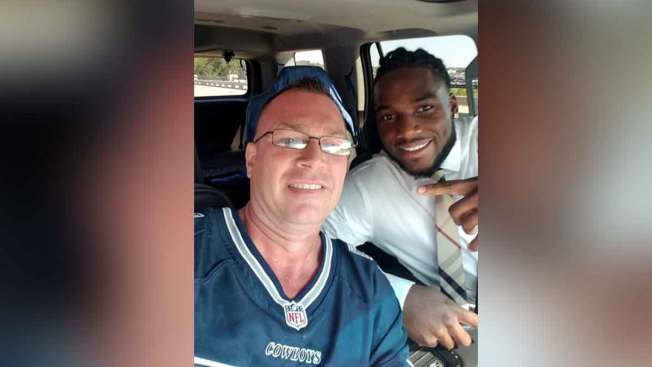 Jaylon Smith Suprises Unsuspecting Fan at Cowboys Game