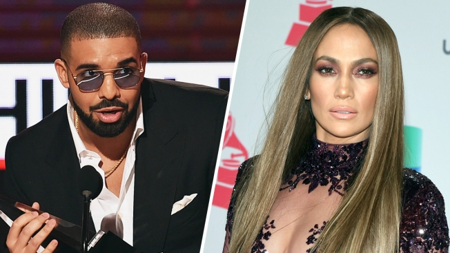 JLo, Drake Get Very Cozy on Dance Floor at Prom Party