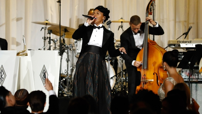 Janelle Monae Rocked Ralph Lauren's Jazz Club of Yesteryear