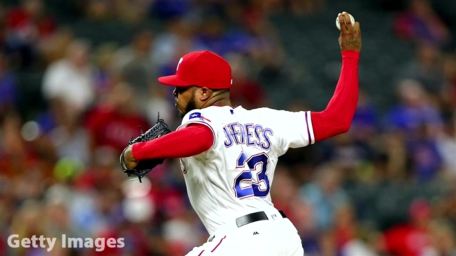 Rangers' Jeffress Seeks Treatment, Still on Restricted List