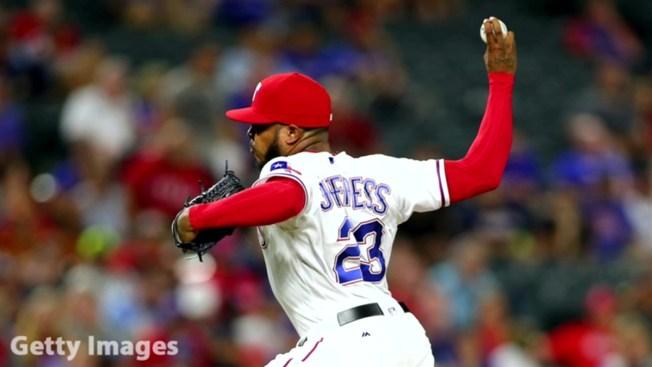Rangers' Jeffress Seeks Treatment, Still on Restricted List
