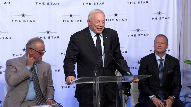 Jerry Jones Wants to Bring the NFL Draft to North Texas
