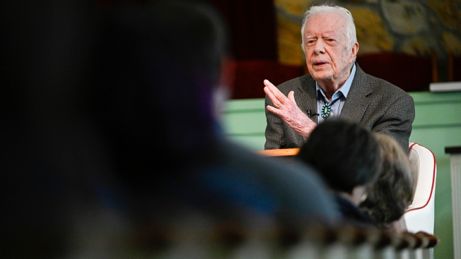 Former President Jimmy Carter Is Back Teaching Sunday School