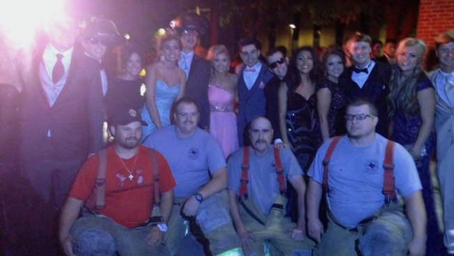 Volunteer Firefighters Save Prom for Stephenville Students