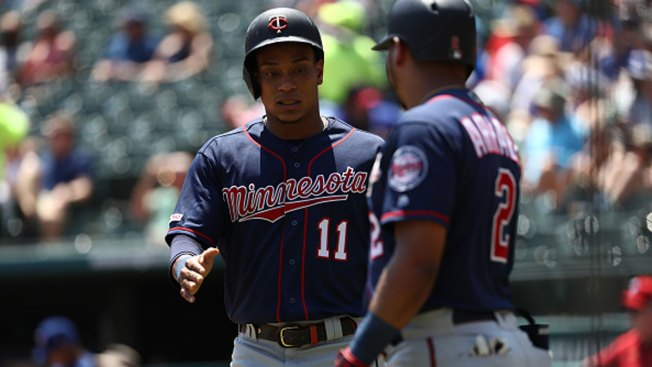 Polanco, Twins Top Rangers for 1st 4-Game Sweep of Texas