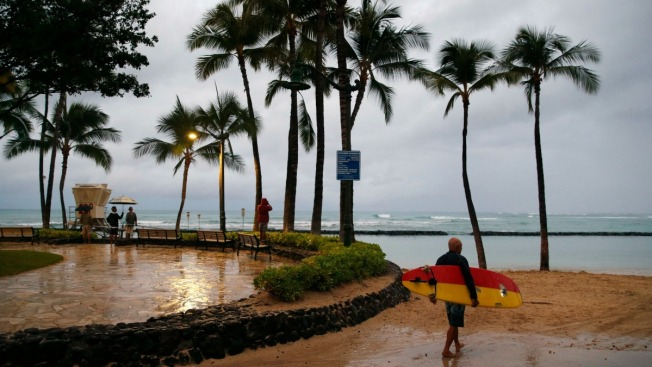 Lane Brought Record Rain to Hawaii, But Lost its Wallop