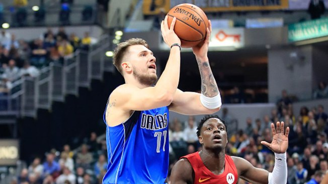 Rookie Doncic Scores 35 as Mavericks Top Cavaliers