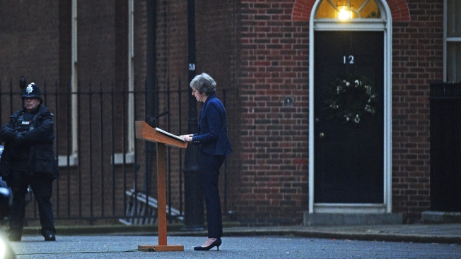 UK's May Wins No-Confidence Vote by MPs Unhappy Over Brexit