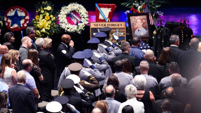 Calls for Respect and Unity at Slain Baton Rouge Officer's Funeral