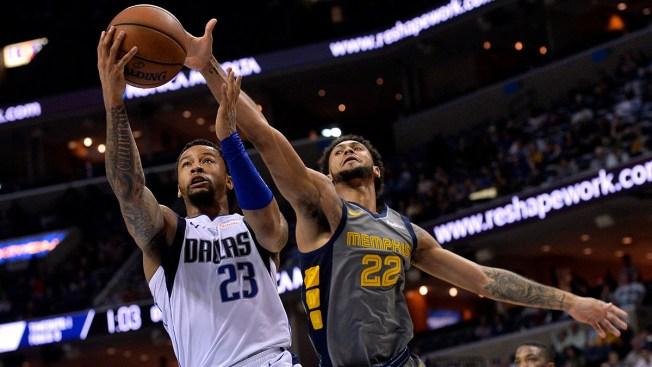 Mejri, Burke Lead Mavs Past Grizzlies in OT