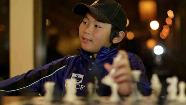 Youngest U.S. Chess Master, 10: I've Got to Work on my Endgame