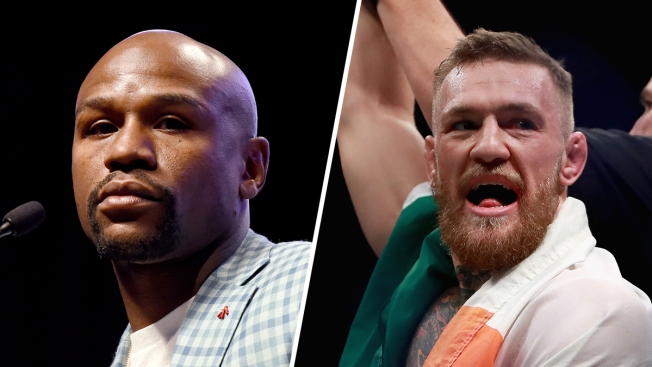 Conor McGregor trolls Floyd Mayweather ahead of super-fight in August