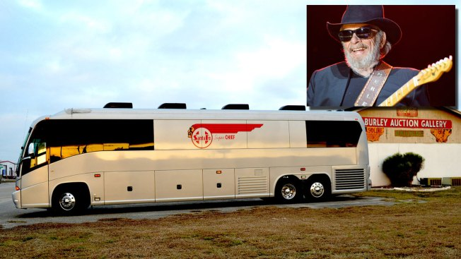Hit the Road in Country Music Icon Merle Haggard's Tour Bus