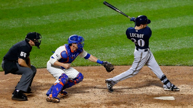 Brewers Continue to Discuss Lucroy Option