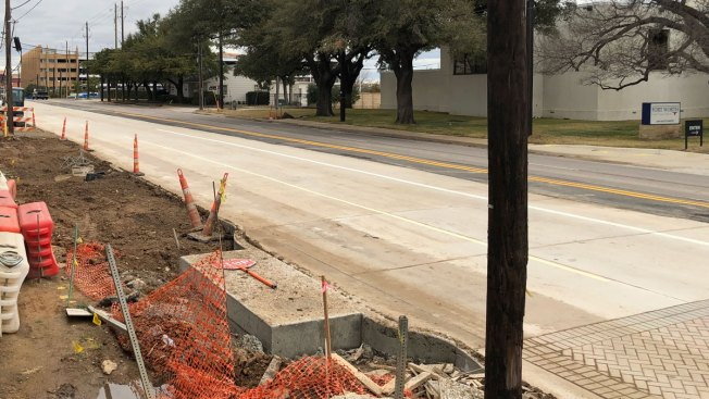 All Lanes Open on Montgomery Street in Fort Worth
