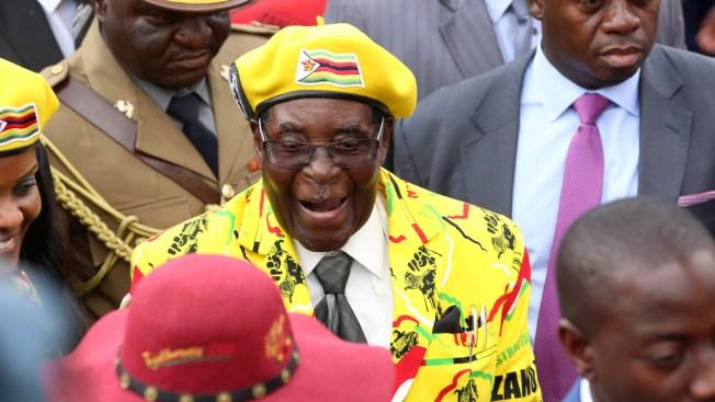 Zimbabwe Army Says Via State Broadcaster Mugabe, Wife Safe