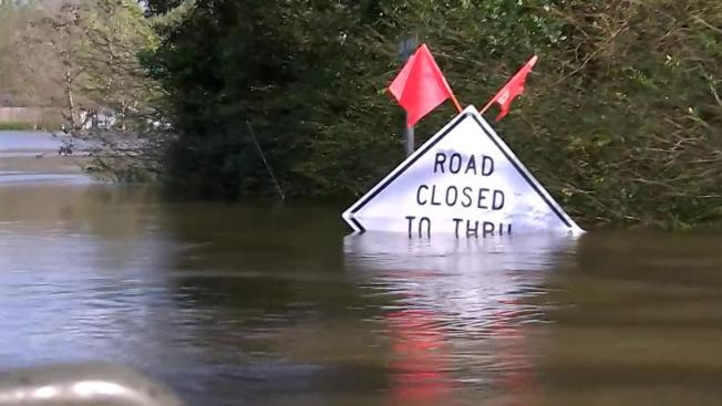Flooding Still Causing Major Problems in East Texas