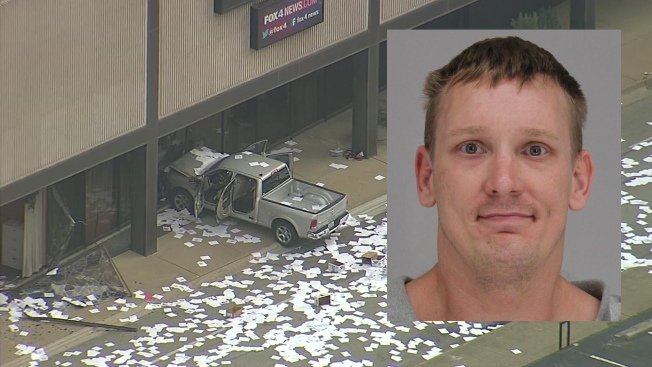 Man Who Drove Truck Into Dallas TV Station Released From Jail