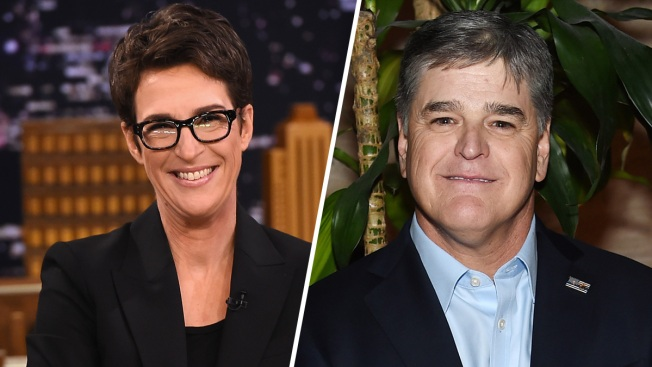 Cable Viewers Digest Mueller News Through Hannity, Maddow