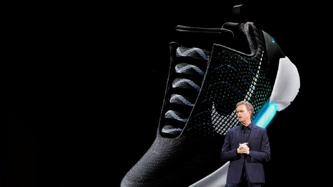 Nike Unveils Its First Self-Lacing Sneaker