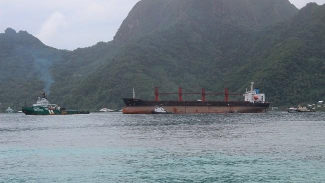 N. Korean Cargo Ship Seized by US Arrives in American Samoa