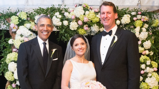President Obama Serves as Groomsman at Longtime Aide's Wedding