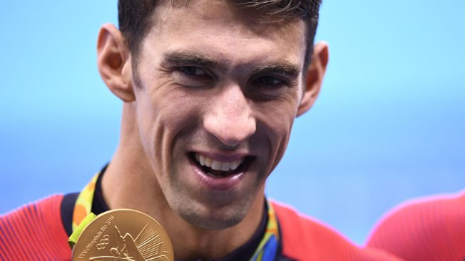A Nickname for Phelps' Last Medal: 'The Peek'