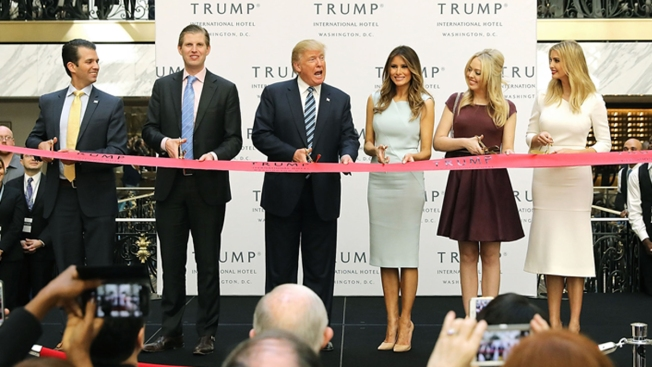 Agency: Trump Must Fully Divest From DC Hotel