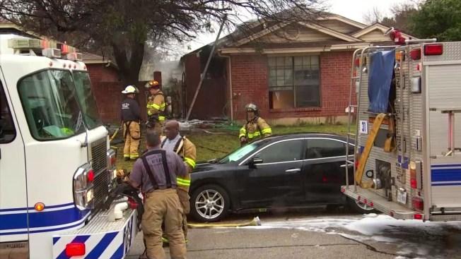 Fort Worth Woman Starts Chimney Fire