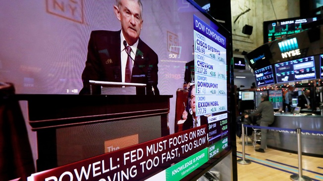 Dow Surges 600 Points, Biggest Rally in Eight Months, After Powell Hints at Slower Interest Rate Hikes