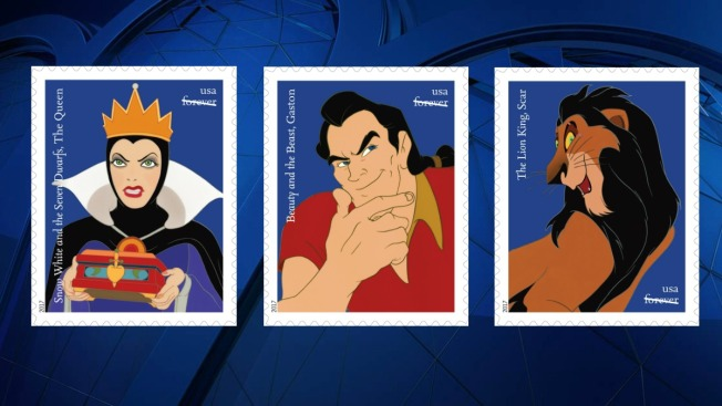 Disney Villains to Be Featured on New Postage Stamps