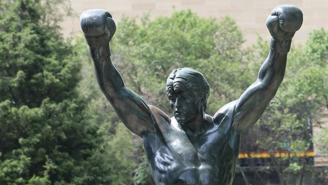 'Rocky' Statue Reopens Outside Philadelphia Museum of Art