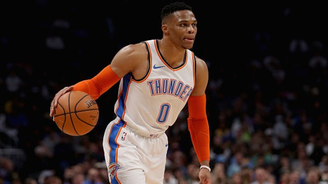 Westbrook Rebounds With Triple-Double as Thunder Beat Mavs