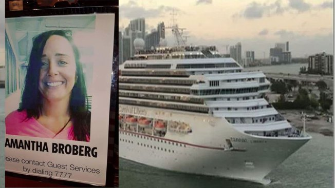 Coast Guard Searching For North Texas Woman Who Fell Overboard - Lady overboard on cruise ship
