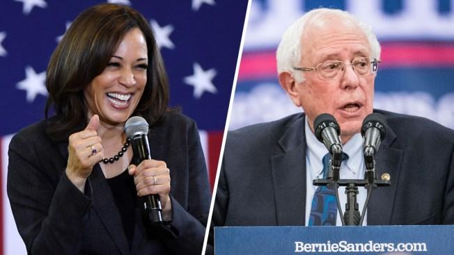 Testing Strength, Harris and Sanders Take 2020 to Rival Turf