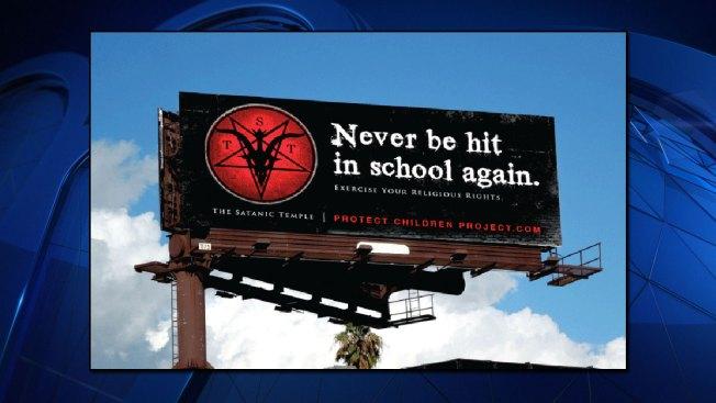 Billboard Ad by Satanic Temple Takes Aim at Texas School