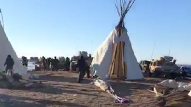 Standing Rock Tribe Leader Asks Protesters of Pipeline to Leave