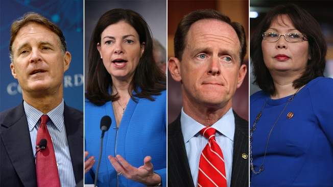Battleground States That Could Flip the US Senate