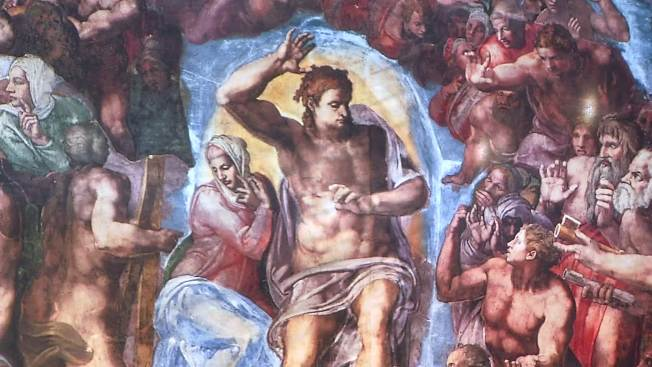 Sistine Chapel Frescoes at State Fair of Texas
