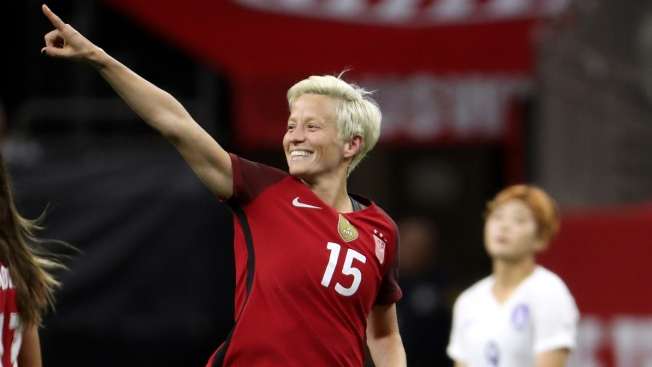 Megan Rapinoe Is First Out Lesbian to Pose for Sports Illustrated Swimsuit Issue