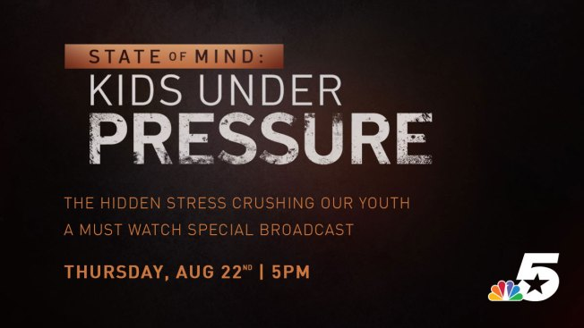 NBC 5 Addresses Stress, Depression and Suicide Among Today's Youth With News Special