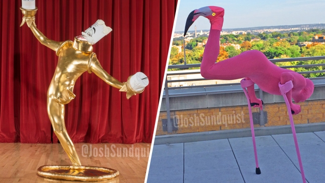 [NATL] Paralympian Amputee Creates Perfect One-Legged Costumes