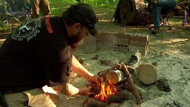 Texas Survival School Teaches Skills To Survive In The Wild
