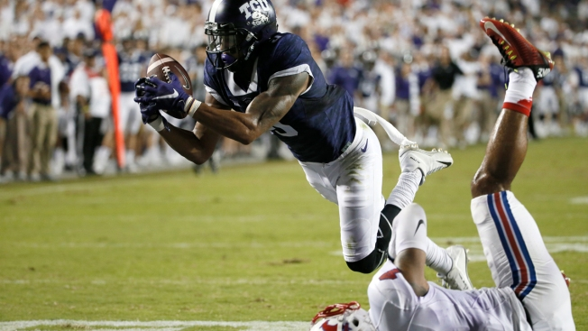 TCU Receiver Josh Doctson Out for Rest of Regular Season