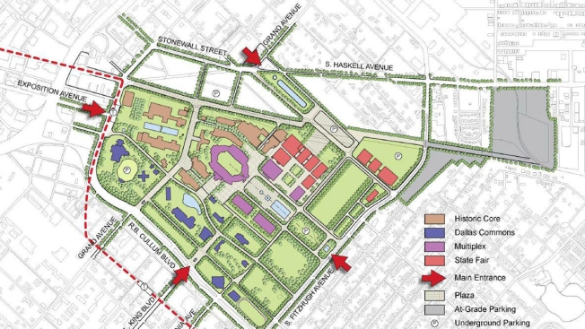 Proposal Calls For A Radical Redo Of Fair Park And The State Fair