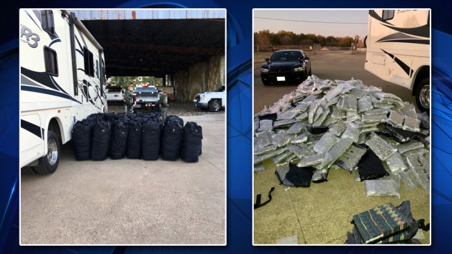 More Than 900 Pounds of Marijuana, Thousands of THC Cartridges Seized During Traffic Stop
