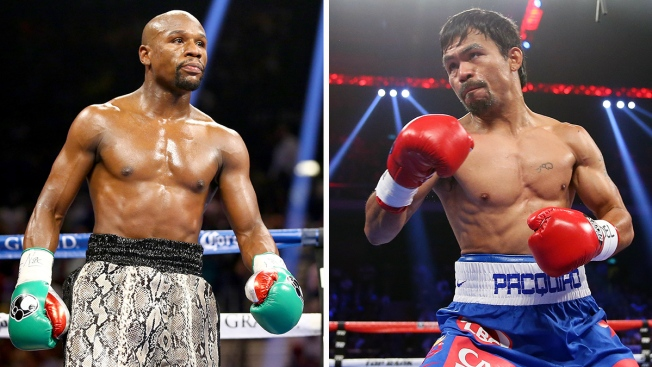 Mayweather Announces Fight with Pacquiao Over Social Media