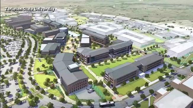 Tarleton State Campus Map.Tarleton State University Breaks Ground For Fw Campus Nbc 5 Dallas